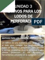 Unidad 3 Aditivos de Fluido de Perforacion