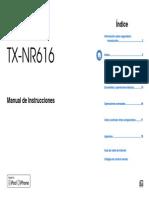Manual TX-NR616 Es