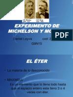 Experimento de Michelson y Morley (2)