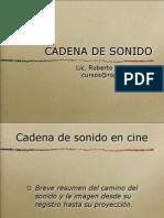 201-Cadena de Sonido en Cine