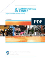 Seattle technology adoption report 2013
