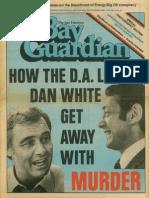 San Francisco Bay Guardian after Harvey Milk's death