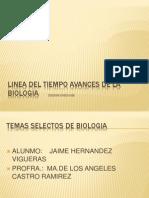 84962387 Linea Del Tiempo Avances de La Biologia