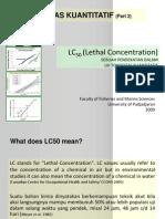5b Bahankuliah Ekotoksikologi Lc50lethalconcentration (1)
