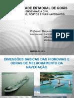 Dimensoes Básicas Das Hidrovias e Obras de Melhoramento