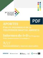 Estudio sobre la TV en una muestra de localidades de la Argentina