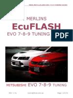 Merlins Ecuflash Evo 7-8-9 Tuning Guide-V1.7a