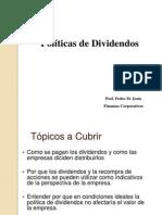 Finanzas Corporativas - Politica de Dividendos