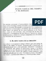 Cosmogonía nahua