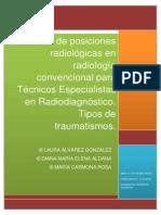 Manual de Posiciones y Tc3a9cnicas Radiolc3b3gicas Tipos de Traumatismos