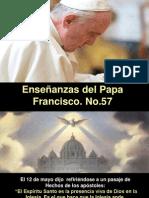 Enseñanzas Del Papa Francisco - Nº 57