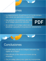 Conclusiones Codigo Laboral