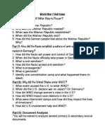 ww2 study guide t4