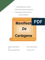 Manifiesto de Cartagena Version Nueva