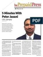 5 MInutes With Peter Jasani