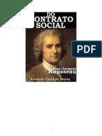 Contrato Social Jean Jaques Rouseua Livro