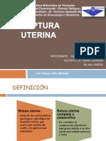 SEMINARIO ROTURA UTERINA