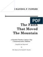 The Faith That Moved the Mountain Fifth Edition