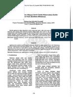 metode aglomerasi menghilangkan sulfur