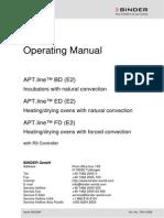 Manual Horno Binder Ed53