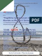 2009 Souvenir Program