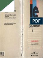 Grammaire Le Français Au Présent