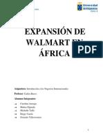 Expansión de Walmart en África.