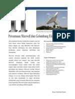 Bab 11 Persamaan Maxwell Dan Gelombang Elektromagnetik