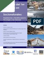 seminario desastres naturales