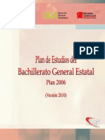 plan de estudios 2006 versin 2010 bge