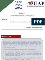 Cap I Concepto Generales y Definiciones
