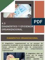 4.3 Diagnostico y Eficiencia Org