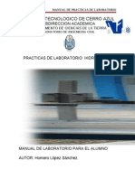 Manual de Practicas Hidraulica II
