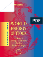World energy outlook 1999