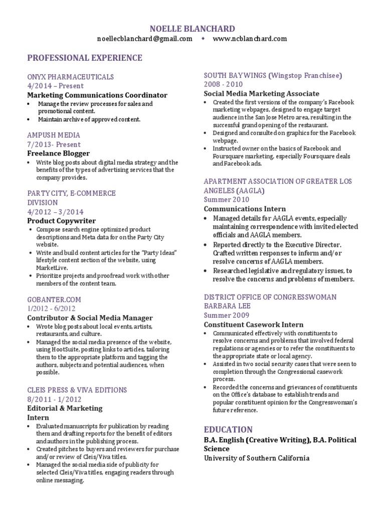 graphic resume | Digital & Social Media | Social Media