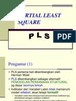 Sekilas Tentang PLS (Partial Least Square)