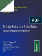 Sentinel Nodes - breast ca