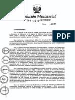 RM N° 204-2014-MINEDU Normas para la evaluación excepcional de directores titulares