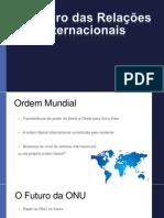 O Futuro Da Relações Internacionais2