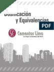 Dosificacion Y Equivalencias_Cementos Lima