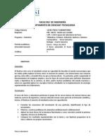 Programa Física y Laboratorio 1-2014