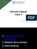 Clase 5. Derecho Laboral 2014