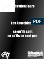LES ANARCHISTES - Sebastien Faure - Copie