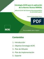 Estrategia Achs Ds594