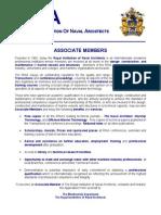 RINA Membership Application Form - Associate Member