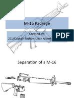 M-16 Parts