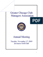 2009 GCCMA Annual Meeting Reports