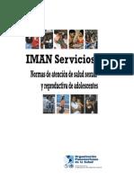 3 IMAN Normas de Atencion de Salud Sexual y Reproductiva de Adolescentes