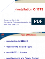 2 Hardware Installation of BTS Huawei