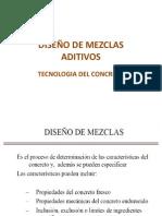 Diseño de Mezcla Aditivos Prob. 11